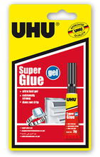 UHU Super Glue Gel - 3g