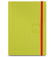 Caran D'Ache Notebook Canvas Cover A5 Blank Pages - Green   |  454.710
