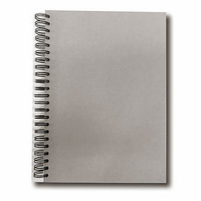 "Wire-O Sketchbook 130gsm 110pgs - A4/8.3"" x 11.7"" Pasteboard"