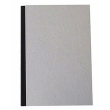 """Pasteboard Cover Sketchbook 100gsm 144pgs - A5/5.8"""" x 8.3"""" - Black"""