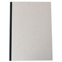 """Pasteboard Cover Sketchbook 100gsm 144pgs - A4/8.3"""" x 11.7"""" - Black"""