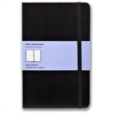 Moleskine Sketchbook 80 Pages Hardcover - Large (13cm x 21cm)