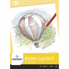 Canson 45GSM Bank Layout - A2