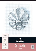 Canson 1mm Graph Pad - A3