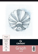 Canson 1mm Graph Pad - A4