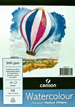 Montval Watercolour Pad 300GSM Medium - A5