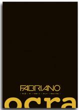 Fabriano Ocra Glue Bound - Plain