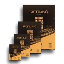 Fabriano Schizzi A2 Glue Bound Plain