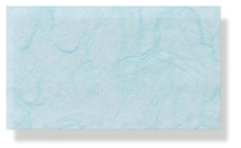 Mulberry Silk Paper With Fibres - Light Blue