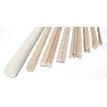 Balsa Wood Dowel - 6.5mm x 915mm