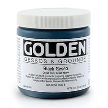 Golden Black Gesso