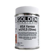 Golden MSA Varnish with UVLS (Gloss) 473ml