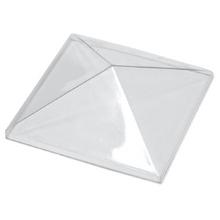Transparent PET-G Pyramid Dome - 50mm x 50mm x 15mm
