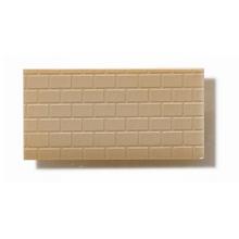 Textured Polystyrene Sheet, Through-Stamped, Large Olive-Grey Brickwork - 1:50