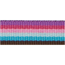 Rico Design Fabric Ribbon - Stripes, Multicolour Fashion