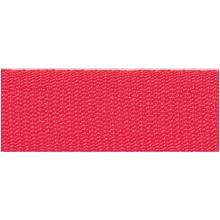 Rico Design Fabric Ribbon - Neon Red
