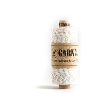 Garn & Mehr Baker's Twine - Gold/White