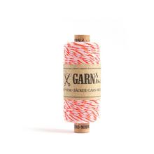 Garn & Mehr Baker's Twine - Neon Orange/White