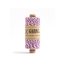 Garn & Mehr Baker's Twine - Red/Blue/White