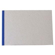 "Pasteboard Cover Sketchbook 100gsm 144pgs - A5/8.3"" x 5.8"" Landscape - Blue"