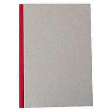 """Pasteboard Cover Sketchbook 100gsm 144pgs - A5/5.8"""" x 8.3"""" - Red"""