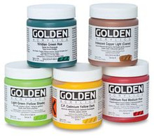 Golden Heavy Body Acrylics S2 Primary Yellow 236ml