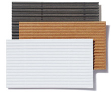 Nano Corrugated One-Sided Board Sheet - White