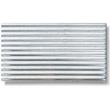 Aluminium Fine-Corrugated Sheet - 0.8mm x 250mm x 250mm