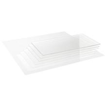 Precision Acrylic Transparent Colourless Glass - 0.3mm x 400mm x 400mm