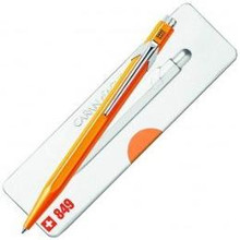 849 Ballpoint Pen with Case - Fluo Orange  |  849.530