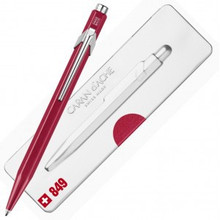 849 Ballpoint Pen Metal-X Red with box  |  849.780