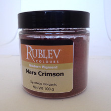 Rublev Colours Dry Pigments 100g - S1 Mars Crimson