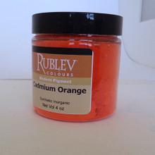 Rublev Colours Dry Pigments 100g - S7 Cadmium Orange