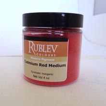 Rublev Colours Dry Pigments 100g - S8 Cadmium Red Medium