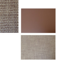 Lino 3.2mm Thick A3 Size Approx. 42cm x 29.7cm - Brown