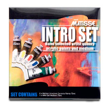 Matisse Structure Acrylics Intro Set - 5 x 75ml