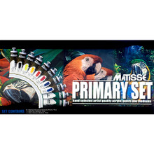 Matisse Structure Acrylics Primary Set - 10 x 75ml