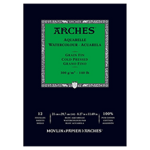 Arches Watercolour Pad Cold Pressed (Medium) 300GSM - A4
