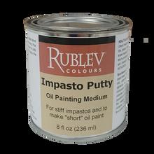 Rublev Oil Medium Impasto Putty 8 Fl Oz | 530-32508