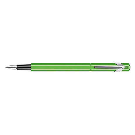 849 Fountain Pen Metal Yellow Green Fluo - F | 841.230