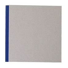 """Pasteboard Cover Sketchbook 100gsm 144pgs - 17cm x 17cm/6.7"""" x 6.7"""" - Blue"""