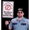 Impaired Driving Enforcement Sign