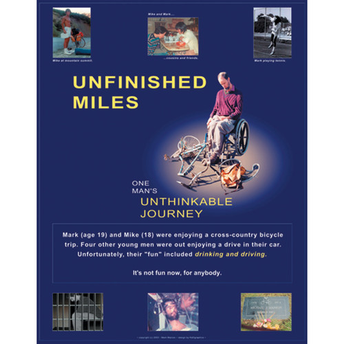 """Unfinished Miles"" Drunk Driving DVD"
