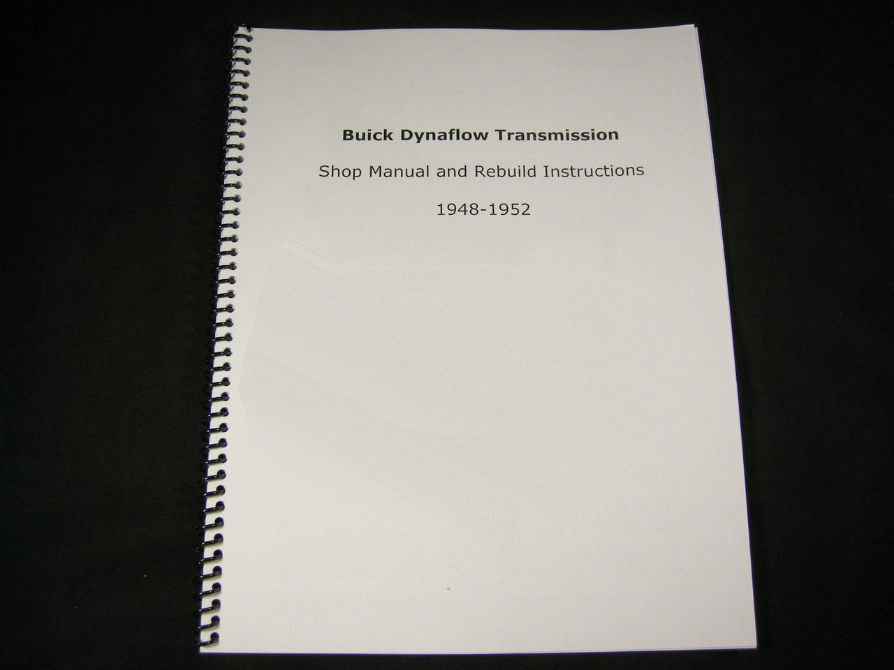 Cast Iron Powerglide Rebuild Manual