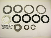 1964-69 C4 Thrust Washer Kit w/ Selectives & FORWARD DRUM WASHER