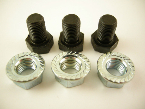 TH350 Transmission Torque Converter Bolts Nuts 69-UP Turbo 350 M464GF