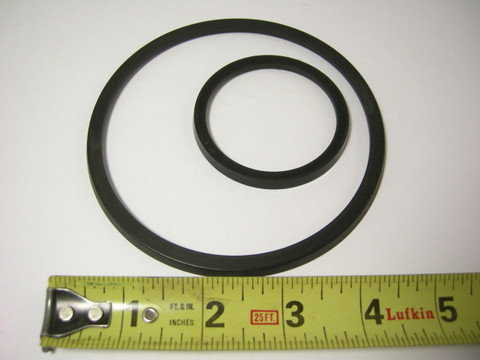 Cast Iron Powerglide Transmission CLUTCH PISTON LIP SEALS 53-62