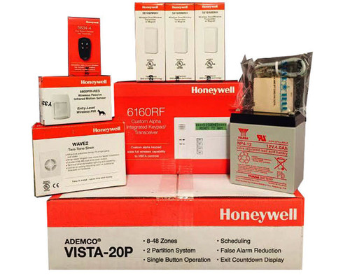 Honeywell Vista 20p  6160rf  3