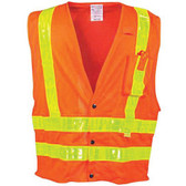 OCCSSLDMS-O3X Clothing Reflective Clothing & Vests OccuNomix LUX-SSLDMS-O3X