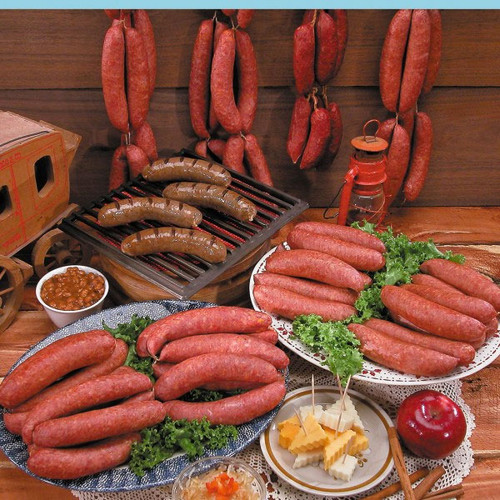 sausage and bratwurst